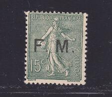 FRANCE FRANCHISE MILITAIRE N°  3 ** MNH sans charnière, B/TB, cote: 210 €   (L2)