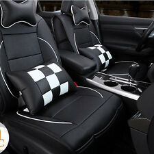 PU Leather Car Seat Cover Cushion 10pc Set For Toyota Camry Corolla 4Runner RAV4