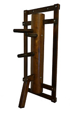 Wing Chun Dummy with leg and gripping Arch Walnut color