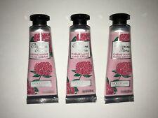 L'occitane Pivoine Flora Moisture Hand Cream 0.35oz/10ml Travel Size Set of 3