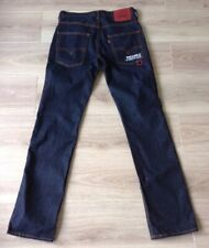 LEVI'S 505 Jeans Taille 30 X 32 Indigo Denim très bon état à avec un sac attaché