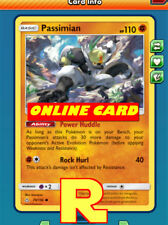Passimian Playset (Damage Up) - for Pokemon TCG Online ( ptcgo in Game Card)