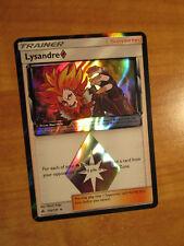 NM Pokemon LYSANDRE Prism Star Card FORIBDDEN LIGHT Set 110/131 Holo Rare SM TCG