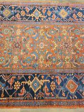 """Circa 1900 ANTIQUE handwovenBijar rug ESTATE SALE size 3'8""""×6'7"""" decorative"""