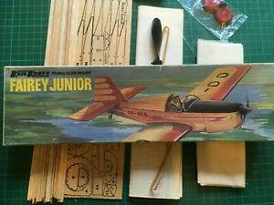 Keil Kraft Fairey Junior Flying Scale Model - Rubber powered.