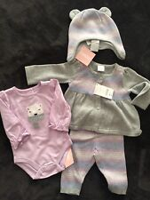 Gymbore Baby Girl 6-12m Outfit 4 Pieces NWT