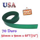 """US STOCK 6FT 72"""" Silk Screen Printing Squeegee Blade 70 DURO Polyurethane Rubber"""