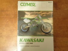 Clymer Kawasaki KX125 1992-2000 Service-Repair-Maintenance Manual M472-2