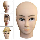 Foam Women Female Head Model Wig Hair Glasses Hat Headset Display Stand Model