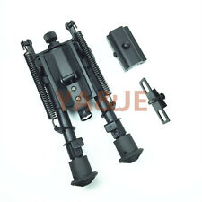 Bipod  6-9 SWIVEL  Rifle Bipod Hunting Picatinny Style Rail Adaptor