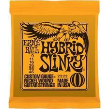 Ernie Ball P02222 Hybrid Slinky Nickel Wound Set, .009 - .046