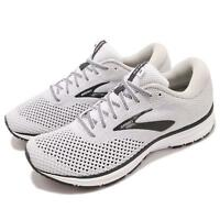 Brooks Revel 2 White Grey Black Men Running Training Shoes Sneakers 110292 1D