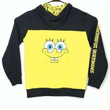 Timberland X Spongebob Squarepants Black Pullover Hoodie Sweater Sz L Deadstock