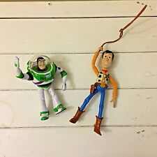 Disney Toy Story Buzz and woody figures | karate chop action and lasso
