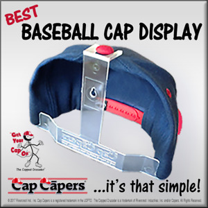 Baseball Cap Display Cap Rack Organizer Hat Wall Display Holder Closet Hanger