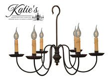 Wilcox Chandelier by Katie's Handcrafted Lighting - Primitive Colonial - NEW!