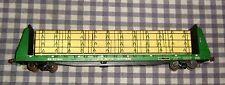 "O-Scale Freight Car,Trailer Train Bulkhead Flat,Burlington Northern 621604, 17"""