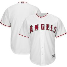 NWT  Los Angeles Angels of Anaheim White Home Majestic Cool Base Jersey XL