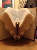 Noel Folded Book Art Folding PATTERN ONLY Christmas gift idea #1038