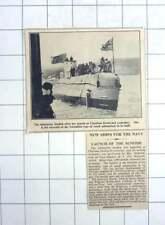 1936 The Submarine Sunfish Launched At Chatham Dockyard