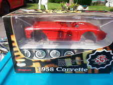 SNAP ON TOOLS 1958 CORVETTE STINGRAY DIE CAST 1:18 MODEL KIT NIB 85 ANNIVERSARY