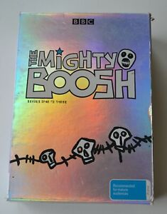 THE MIGHTY BOOSH 1 2 3 Boxed set Live DVD BBC