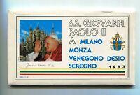 S11407) Vatican 1983 FDC Visite Pape Jean Paul II - Monza (9 Enveloppes)