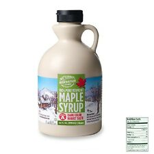 ~~32-OZ 100% MAPLE SYRUP DARK COLOR ROBUST RICH TASTE BUTTERNUT MOUNTAIN FARM~~