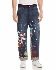 NWT Junya Watanabe x Levi's Painted Straight Fit Jeans in Indigo - Size: Small