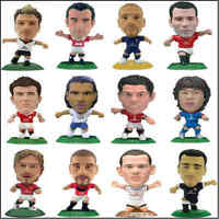 Corinthian Microstar Football Model Figures Manchester United - Various Players