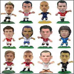 Corinthian Microstar Football Model Figures Manchester United - Various Players