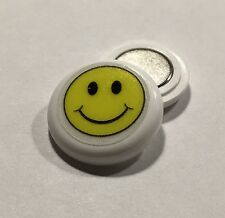 Race number magnets - Smiley