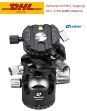 Leofoto LH-40 GR Panorama Geared Ball Head with QR Plate for Arca Swiss Tripod