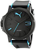 PUMA Men's PU102941001 Ultrasize Left-Handed Black Sport Watch PUMA