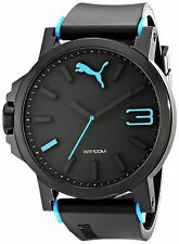 PUMA Men's PU102941001 Ultrasize Left-Handed Black Sport Watch PUMA