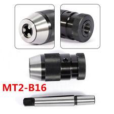 Keyless 12 Drill Chuck Self Tighten 2mt Morse Taper Arbor Mt2 B16 1 13mm Us