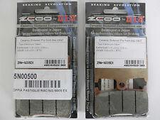 ZCOO 2 COPPIE PASTIGLIE FRENO ANTERIORE EX PER TRIUMPH TIGER ABS 1050 2007