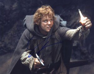 """SEAN ASTIN In-Person Signed 10X8 """"Lord of the Rings"""" Photo with a (SSG) COA"""