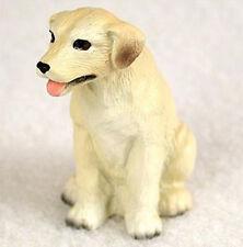 LABRADOR RETRIEVER LAB (YELLOW) TINY ONES DOG Figurine Statue Pet Lovers Resin