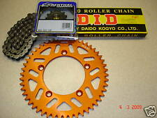 DID Chain And Orange RFX Sprocket Kit KTM 85 04-17 SX 49 T 14 Motocross