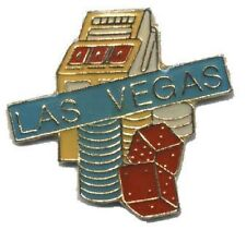 Hat Lapel Push Pin Tie Tac City Las Vegas Action NEW