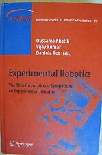 Experimental Robotics: The 10th International Symposium on Experimental Robo