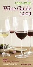 Wine Guide 2009 (Food & Wine)