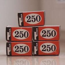 Tasma/Svema 250 35mm Legendary vintage USSR B&W film. Best for LOMO! 5 rolls!