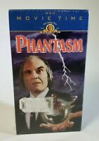 NEW Phantasm VHS MGM 1998 Movie Time Edition Horror Outtakes SEALED