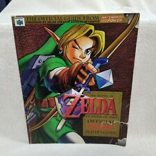 ⭐1998 The Legend of Zelda Ocarina of Time Official Nintendo 64 Players Guide⭐👀