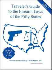 50 State Gun Law Book ALL NEW 2017 Travelers Guide to Gun Laws of the 50 States