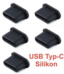 5x USB Typ-C Staubschutzstecker Stöpsel Silikon für SAMSUNG T7 Portable SSD