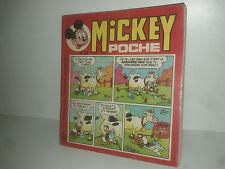 MICKEY POCHE MENSUEL n° 25  WALT DISNEY 1976