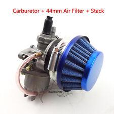 Carburetor Carby Air Filter Stack For 47 49cc Mini ATV Dirt Pocket Bike Go Kart